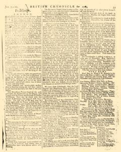 London Lloyd Evening Post, January 09, 1764, Page 7