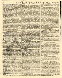 London Lloyd Evening Post, January 25, 1764, Page 2