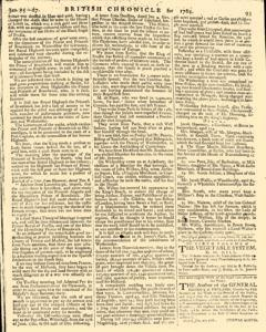 London Lloyd Evening Post, January 25, 1764, Page 5