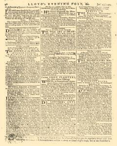 London Lloyd Evening Post, January 25, 1764, Page 8