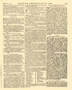London Lloyd Evening Post, February 10, 1764, Page 3