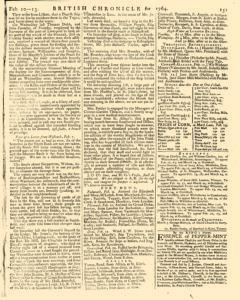 London Lloyd Evening Post, February 10, 1764, Page 7