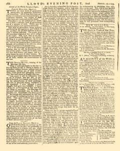 London Lloyd Evening Post, March 16, 1764, Page 2