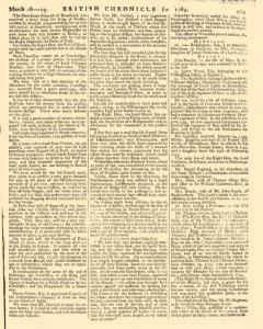 London Lloyd Evening Post, March 16, 1764, Page 5