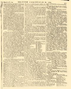 London Lloyd Evening Post, March 16, 1764, Page 7
