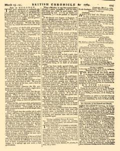 London Lloyd Evening Post, March 19, 1764, Page 3
