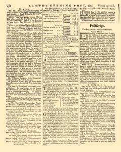London Lloyd Evening Post, March 19, 1764, Page 6