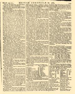 London Lloyd Evening Post, March 19, 1764, Page 7