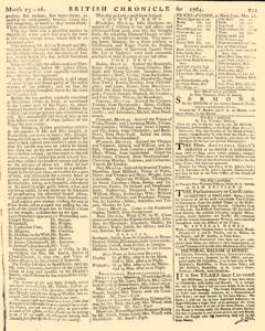 London Lloyd Evening Post, March 23, 1764, Page 7