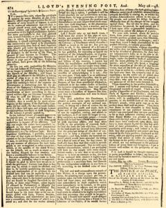 London Lloyd Evening Post, May 16, 1764, Page 2
