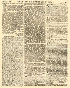London Lloyd Evening Post, May 16, 1764, Page 3