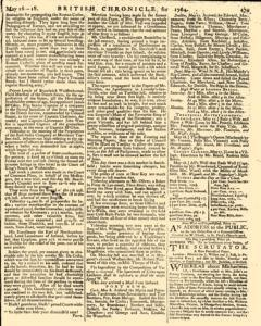 London Lloyd Evening Post, May 16, 1764, Page 7