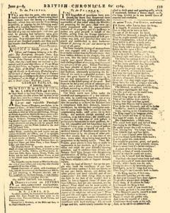 London Lloyd Evening Post, June 04, 1764, Page 3