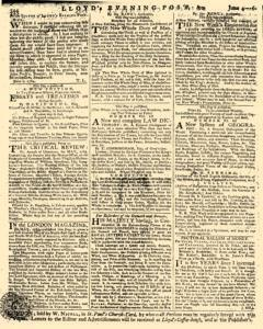 London Lloyd Evening Post, June 04, 1764, Page 8