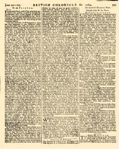 London Lloyd Evening Post, June 20, 1764, Page 3