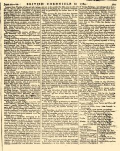 London Lloyd Evening Post, June 20, 1764, Page 7