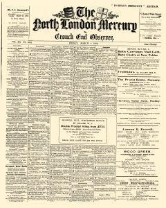 London North Mercury And Crouch End Observer
