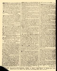 London Pues Occurrences, July 18, 1747, p. 4