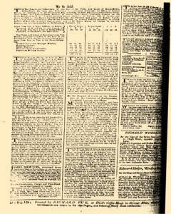 London Pues Occurrences, September 12, 1747, Page 4