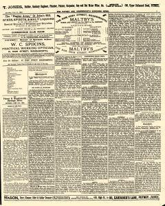 London Putney and Wandsworth Boro News, June 11, 1892, Page 5