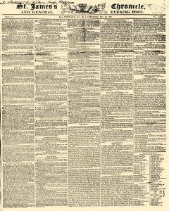 London St James Chronicle And General Evening Post