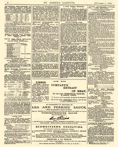 London St James Gazette An Evening Review And Record Of News