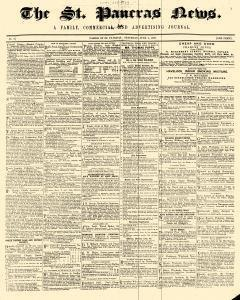 London St Pancras News Family Commercial And Advertising Journal