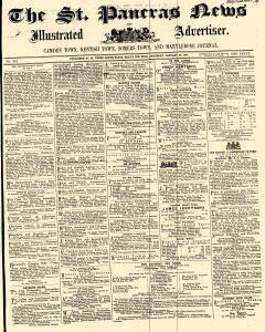 London St Pancras News Illustrated And Advertiser