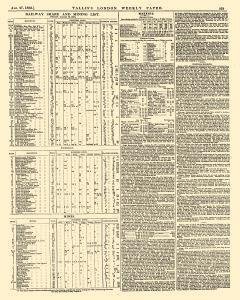 London Tallis London Weekly Paper, August 27, 1853, Page 13