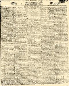 London Times, September 10, 1810, Page 1