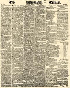 London Times, July 16, 1832, Page 1