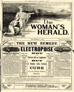 London Woman Herald, December 03, 1892, Page 1
