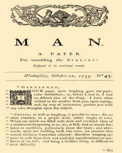 Man, October 22, 1755, Page 1