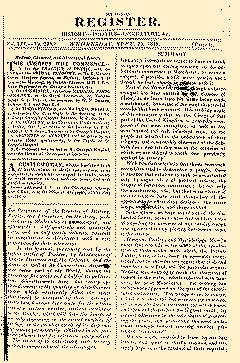 Military Register, September 22, 1819, Page 1