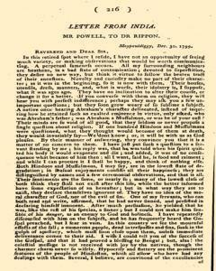Missionary Magazine, May 18, 1801, Page 40