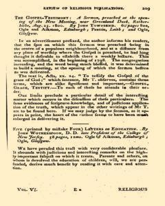 Missionary Magazine, May 18, 1801, Page 33