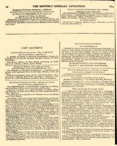 Monthly Literary Advertiser, May 09, 1807, Page 4