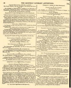Monthly Literary Advertiser, May 09, 1807, Page 6
