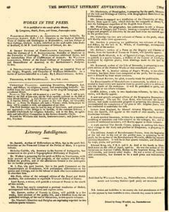 Monthly Literary Advertiser, May 09, 1807, Page 8