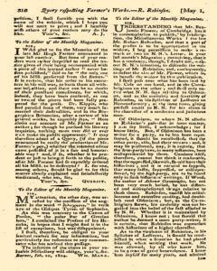 Monthly Magazine, May 01, 1804, Page 6