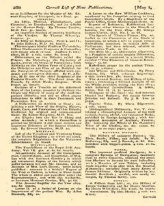 Monthly Magazine, May 01, 1804, Page 58