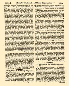 Monthly Magazine, May 01, 1804, Page 7