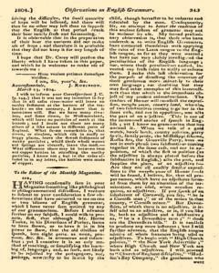 Monthly Magazine, May 01, 1804, Page 33