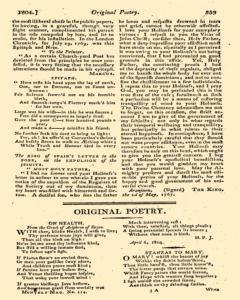 Monthly Magazine, May 01, 1804, Page 43