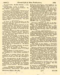 Monthly Magazine, May 01, 1804, Page 59