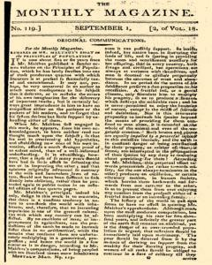 Monthly Magazine, September 01, 1804, Page 1