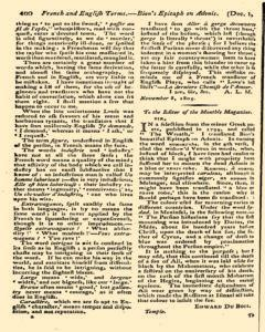 Monthly Magazine, December 01, 1805, Page 8