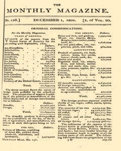 Monthly Magazine, December 01, 1805, Page 1