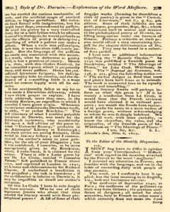 Monthly Magazine, December 01, 1805, Page 7