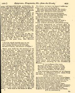 Monthly Magazine, December 01, 1805, Page 13